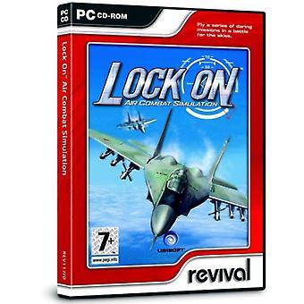 Lås på Air Combat simulering (PC CD)