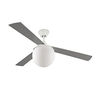 LEDS-C4 design ceiling fan Twenty with included light, 132 cm / 52
