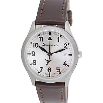 Aristo gentlemen Messerschmitt Fliegeruhr ME watch-381 B leather