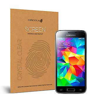 Celicious Vivid Invisible Glossy HD Screen Protector Film Compatible with Samsung Galaxy S5 Mini [Pack of 2]