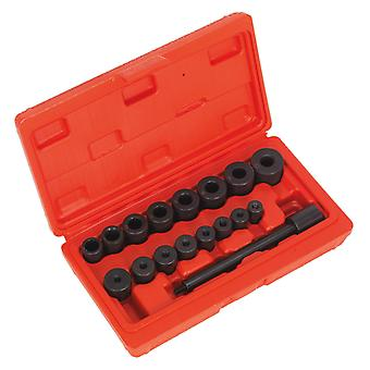 Sealey Ak710 Universal Clutch Aligning Tool Set 17Pc