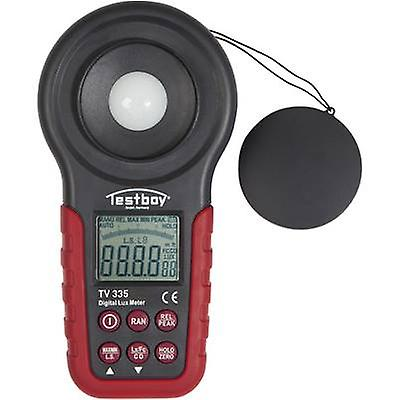 Testboy TV 335 Lux meter 20 - 400000 lx Calibrated to Manufacturers standards (no certificate)