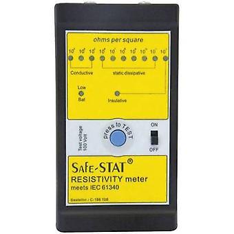 ESD tester set BJZ C-186 108 Surface resistance, Resistance, Bleed resistance incl. storage bag