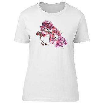 Paint Of An Orchid Flower Tee Women's -Image by Shutterstock