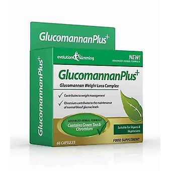 Glucomannan Plus Konjac Appetite Suppressant Capsules - 10 Day Supply (30 Capsules) - Appetite Control - Evolution Slimming