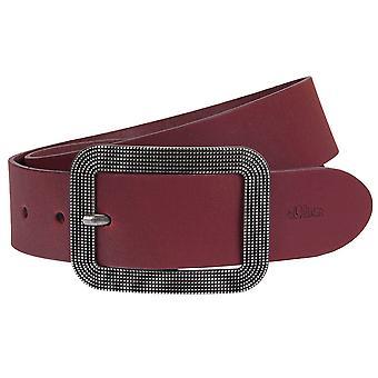 s.Oliver women's leather belts belt 32.608.95.7956-4915