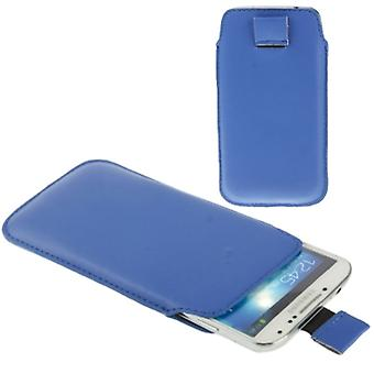Mobile case bag slide for mobile Samsung Galaxy S5 / S5 neo blue