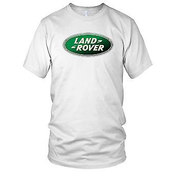 Land Rover Logo - Classic 4x4 Offroad Landy Mens T Shirt