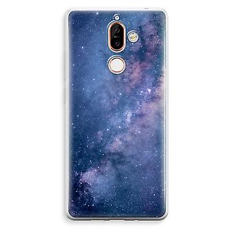 Nokia 7 Plus Transparent Case - Nebula