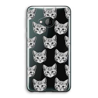 HTC U Play Transparent Case - Kitten