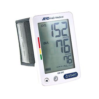 A&D Medical UB-542 Automatic Extra Large LCD Wrist Monitor