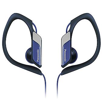 Panasonic RP-HS34E-A Water/Sweat Resistant In Ear Sports Headphone - Blue