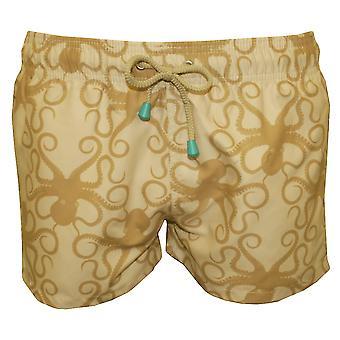 Масленка & котла Chevy короткие Осьминог печати плавать шорты, камень