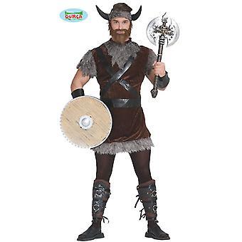 Kostuum Viking, Viking kostuum barbaren heer kostuum één maat