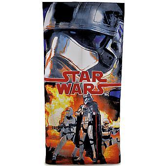 Новый мальчиков Звездные войны официальных лицензированных 100% хлопок печатных пляж полотенце