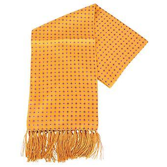 Sciarpa di seta Aviator diamante di Knightsbridge cravatte - Orange