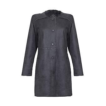 Long Suedette Jacket