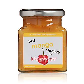 Jules und Sharpie Hot Mango-Chutney