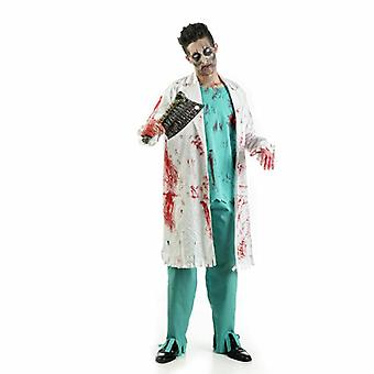 Doctor zombie Mr costume horror doctor surgeon men's costume