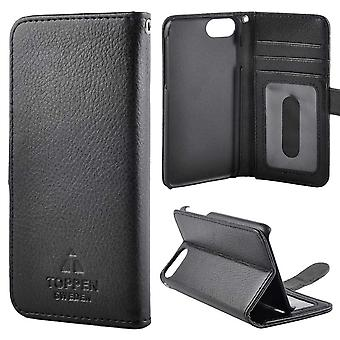 The TOP Left-handed wallet pouch iPhone 6/7/8 Black
