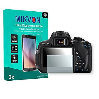 Canon EOS 700D Screen Protector - Mikvon Clear (Retail Package with accessories)