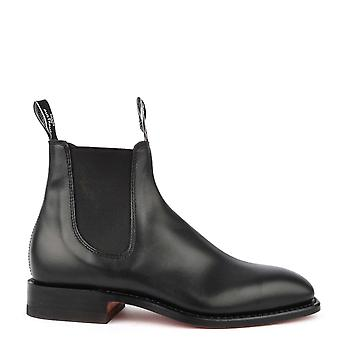 R.M. Williams Men's Classic Craftsman Black Chelsea Boot