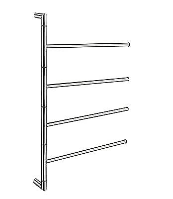 Outline Towel Rail and Rack FK634