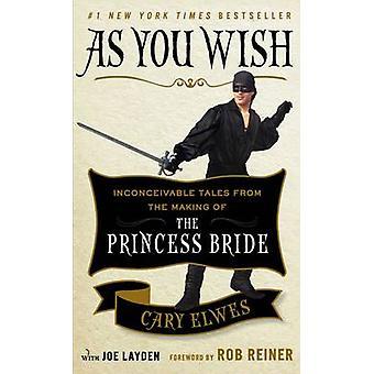 Som du ønsker - utenkelig historier fra innspillingen av prinsesse Brid