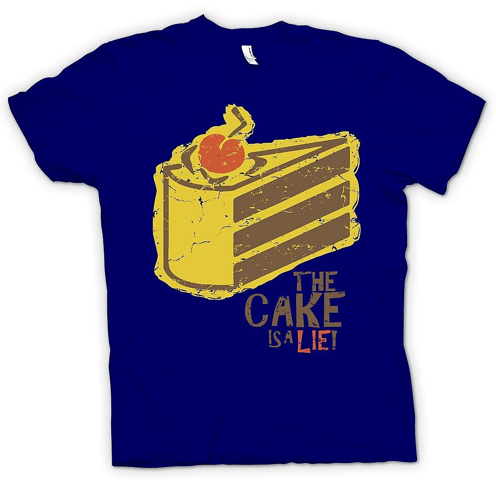 Mens T-shirt - The Cake ist A Lie - Portal inspiriert