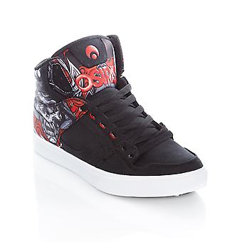 Osiris Huit-Samurai-Red Clone Shoe