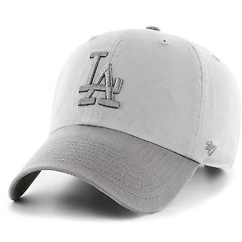 47 fire relaxed fit Cap - CLEAN UP Los Angeles Dodgers grey