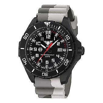 KHS watches mens watch black steel KHS country leader. LANBS. DC5