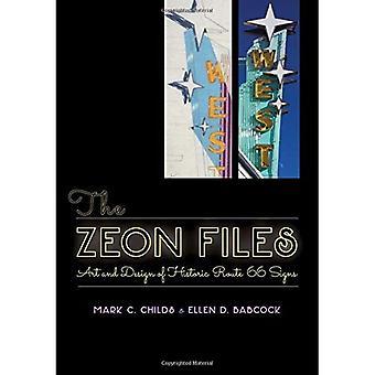 Los archivos de Zeon: Arte y diseño de señales de la ruta histórica 66