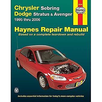 Chrysler Sebring, Dodge Stratus & Avenger 1995 thru 2006