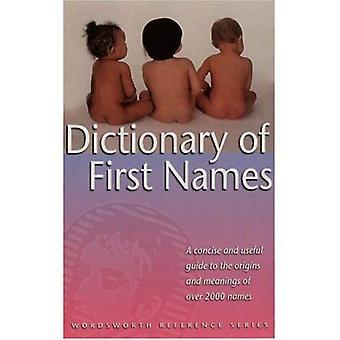 Woordenboek van voornamen