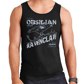 Dark Obsidian Claw Raven Herren Weste