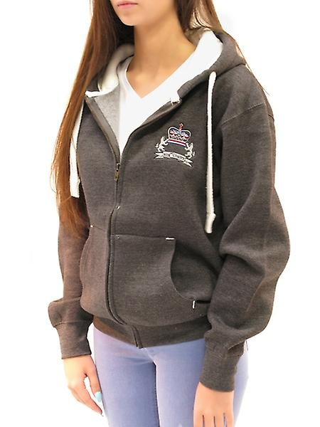 King & Country Rival Crest Zip femmes&s Hoody