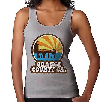 Orange County CA Retro Women's Vest