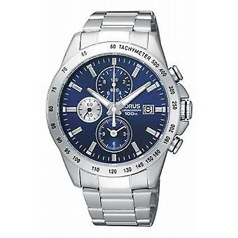 Lorus Mens Chronograph Steel Bracelet RF851DX9 Watch
