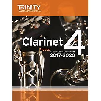 Clarinet Exam Pieces Grade 4 2017 2020 (Score & Part) - 9780857365460