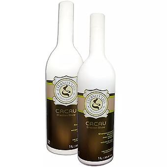 Eternity Liss Brazilian Shine Cacau Hair Care Kit (2 x 1 Litre)