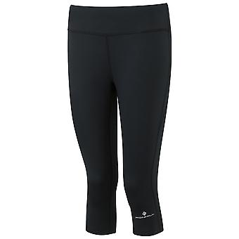 Ronhill Womens Everyday Running Capri (cropped Running Tights) All Black