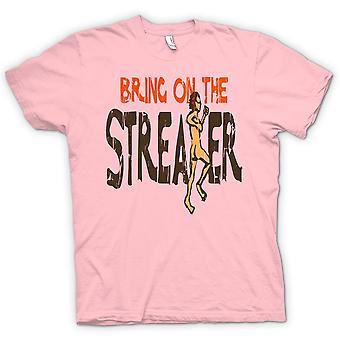Bringen Sie Womens T-shirt - auf die Flitzer - lustig