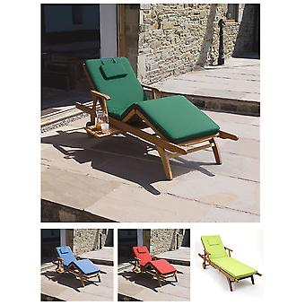 Trueshopping Cushion for Amalfi Adjustable Sun Lounger - Choice of 4 Colours