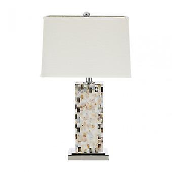 Premier Home Fortis bordslampa, skal, flerfärgad