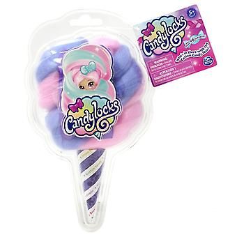 Candylocks - Muñeca sorpresa coleccionable perfumada - rosa y púrpura