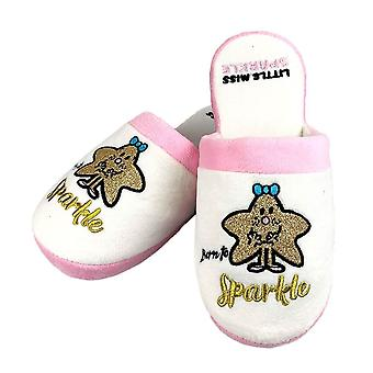 Mr. Men Little Miss Sparkle Mule Slippers