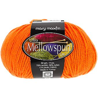 Ultra Mellowspun Yarn-Hot Orange 554-827