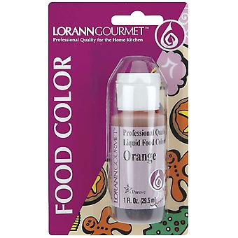 Liquid Food Color 1 Ounce Orange Lfc 1060