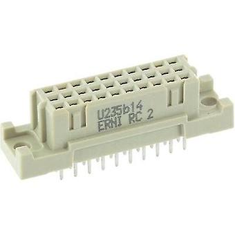 Edge connector (receptacle) 284318 Total number of pins 20 No. of rows 3